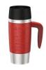 Emsa Isolier-Trinkbecher Travel Mug Handle in rot