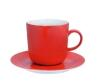 Kahla Pronto Kaffeebecher 0,30 l in rot-orange