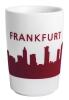 Kahla Five Senses touch! Maxi- Becher Frankfurt in rot