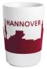 Kahla Five Senses touch! Maxi- Becher Hannover in rot