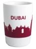 Kahla Five Senses touch! Maxi- Becher Dubai in rot