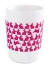 Kahla Five Senses Maxi- Becher 0,35 l in touch! magenta Easter Bunny