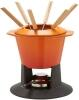 Le Creuset Fondue- Set Gourmand in ofenrot