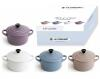 Le Creuset Mini- Cocotten Matt, 4er Set