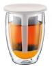 Bodum Teeglas Tea For One, 0,35 l, cremefarben