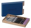 Opinel Steakmesser- Set Table Chic Ebenholz, 4- teilig