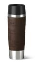 Emsa Isolier- Trinkbecher Travel Mug Grande in braun