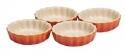 Le Creuset Tarte- Form in ofenrot, 4er- Set