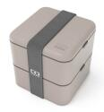 Monbento MB Square Bento- Box in grau