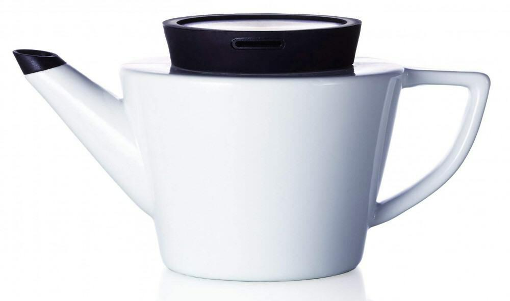 viva scandinavia teekanne infusion aus porzellan 0 5 liter kochform. Black Bedroom Furniture Sets. Home Design Ideas