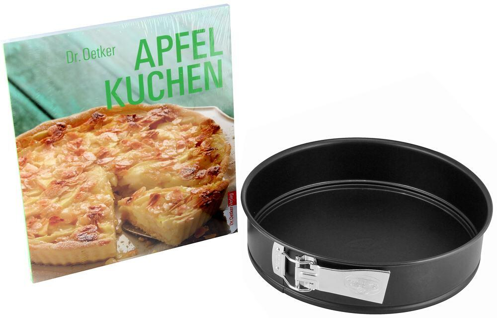 dr oetker aktions backset apfelkuchen 2 tlg kochform. Black Bedroom Furniture Sets. Home Design Ideas
