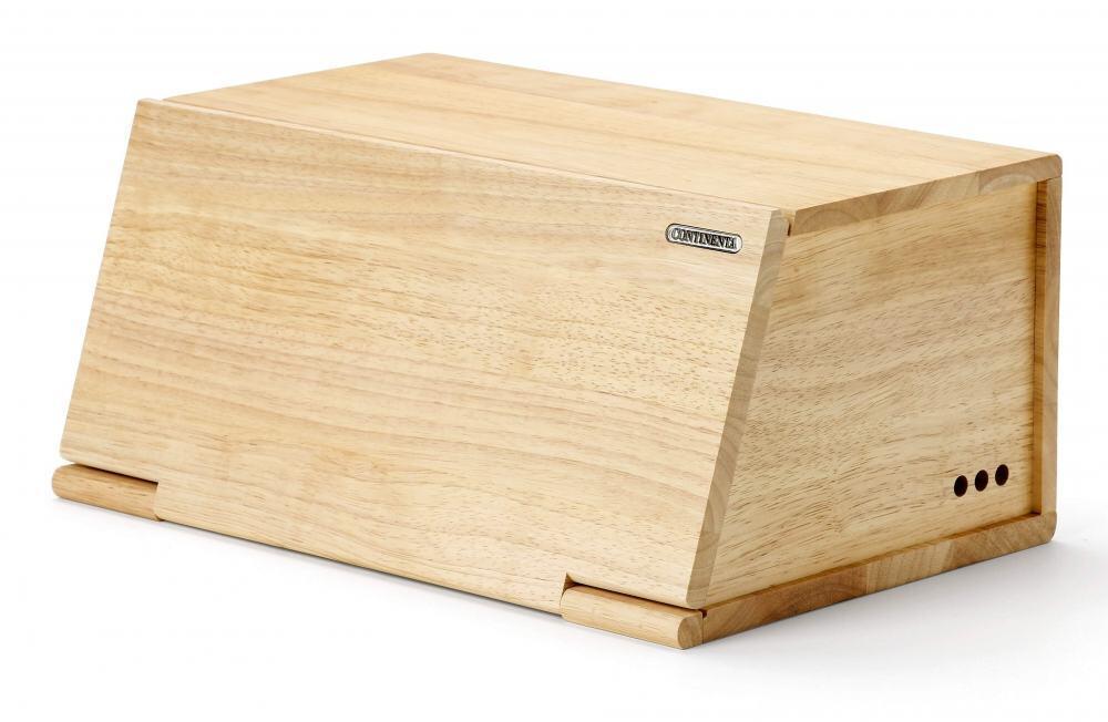 continenta brotkasten aus gummibaumholz kochform. Black Bedroom Furniture Sets. Home Design Ideas