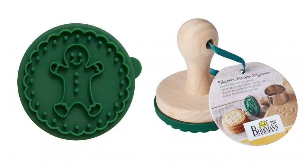 birkmann pl tzchen stempel gingerman kochform. Black Bedroom Furniture Sets. Home Design Ideas