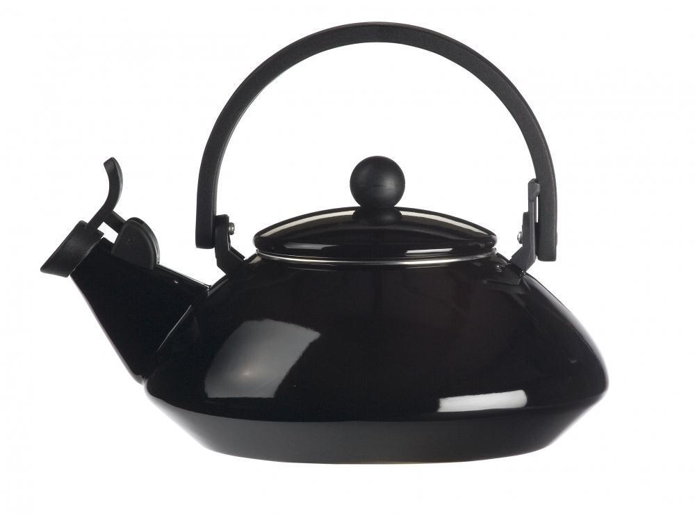 Le creuset wasserkessel zen schwarz kochform for Zen einrichtungsstil