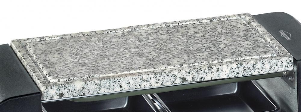 k chenprofi steinplatte f r raclette hot stone duo. Black Bedroom Furniture Sets. Home Design Ideas