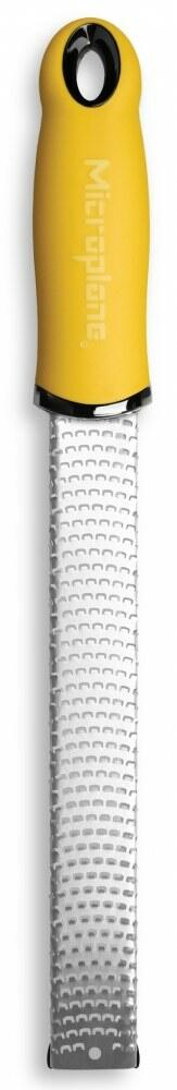 microplane zester reibe premium in gelb kochform. Black Bedroom Furniture Sets. Home Design Ideas
