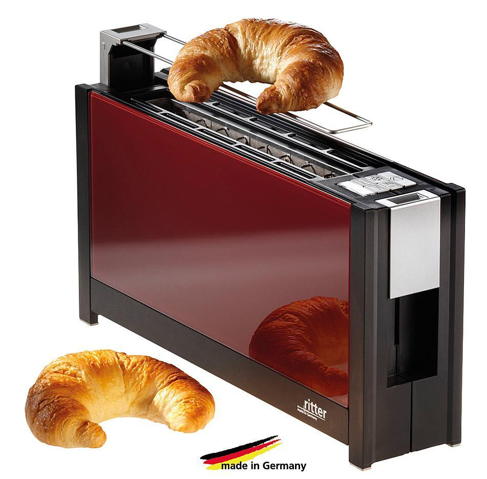 ritter toaster volcano5 in rot kochform. Black Bedroom Furniture Sets. Home Design Ideas