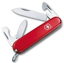 Victorinox Offiziersmesser Recruit rot