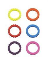 Lurch Flaschenmarkierer Smart Rings, 6er-Set