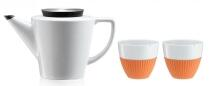 Viva Scandinavia Tee-Set Infusion in orange, 3-teilig