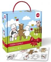 Emsa Farm Farm Family Baby-Set, 6-teilig