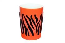 Kahla Five Senses Maxi-Becher 0,35 l in touch! schwarz Tiger