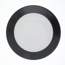 Kahla Pronto Brunch-Teller flach 23 cm in schwarz