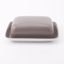 Kahla Pronto Butterdose, eckig in taupe