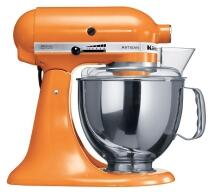 KitchenAid Küchenmaschine ARTISAN in tangerine orange, 4,8 L