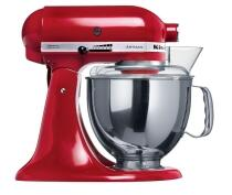 KitchenAid Küchenmaschine ARTISAN in empire rot, 4,8 L