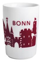 Kahla Five Senses touch! Maxi-Becher Bonn in rot