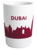 Kahla Five Senses touch! Maxi-Becher Dubai in rot