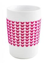 Kahla Five Senses Maxi-Becher 0,35 l in touch! magenta Butterfly