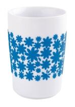 Kahla Five Senses Maxi-Becher 0,35 l in touch! cyan Flower Power