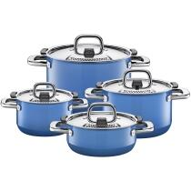 Silit Kochtopf-Set Nature Blue, 4-teilig