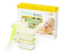 Glasslock Baby Meal Set, 5 Teile