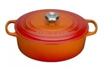 Le Creuset Bräter Signature oval in ofenrot