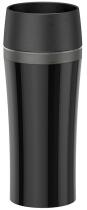 Emsa Isolier-Trinkbecher Travel Mug Fun in schwarz/anthrazit