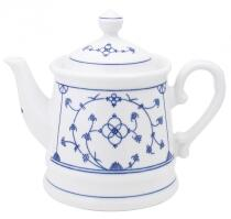 Kahla Tradition Teekanne 1,20 l in Blau Saks