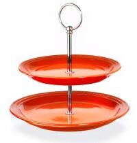 Le Creuset Etagere in ofenrot
