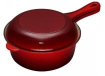 Le Creuset Marmitout in kirschrot 2 in 1, 26 cm