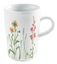 Kahla Magic Grip Wildblume Macchiato-Obertasse 0,35 l, rot-gelb