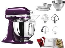 KitchenAid Küchenmaschine ARTISAN 175PS in pflaume, 4,8 L