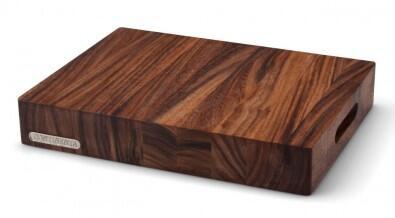 continenta hackblock aus akazienholz kochform. Black Bedroom Furniture Sets. Home Design Ideas