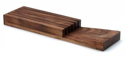 continenta messerblock aus akazienholz f r schublade. Black Bedroom Furniture Sets. Home Design Ideas