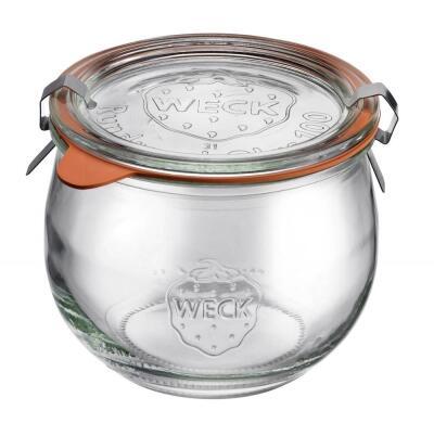 westmark einmachglas tulpe mit glasdeckel 500 ml 4er set kochform. Black Bedroom Furniture Sets. Home Design Ideas