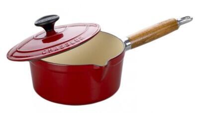 chasseur kasserolle in rot kochform. Black Bedroom Furniture Sets. Home Design Ideas