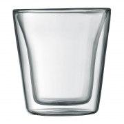 Bodum Glas Canteen, doppelwandig, 0,1 l, 2er Set