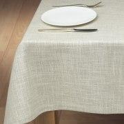 Schlitzer Leinen Tischdecke Tessin in natur (Maße: 130 x 170 cm)