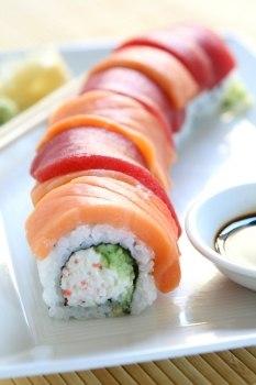 sushi toter fisch auf kaltem reis gro e auswahl top marken. Black Bedroom Furniture Sets. Home Design Ideas